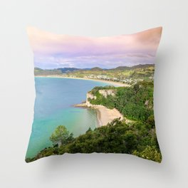 Colorful Palette Throw Pillow