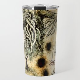 Cthulhu Rises Travel Mug