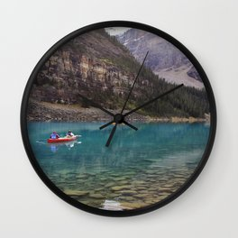 On The Surface Wall Clock