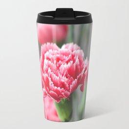 Pink Carnation Travel Mug