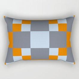 3D Patchwork Pattern Rectangular Pillow