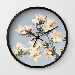 Ogawa Kazumasa - Vintage Japanese azaleas Wall Clock