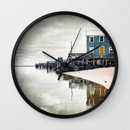 Provincetown Massachusetts Photograph Wall Clock
