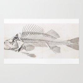 Fish bones Rug