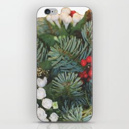 Pine bouquet iPhone Skin