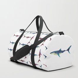 Great White Shark Duffle Bag