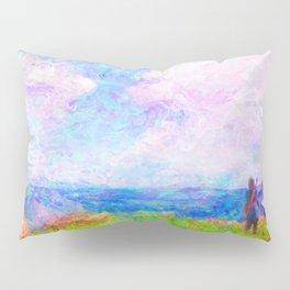 Dragon Quest XI Intro Impressionist Painting Pillow Sham