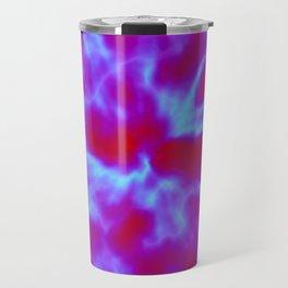 Violet Bursts Travel Mug