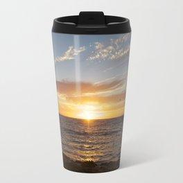 My favorite color is sunset Travel Mug
