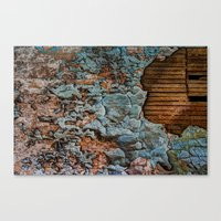 tapestry Canvas Prints featuring Tapestry by Kent Moody