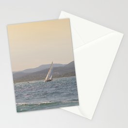 Hot Summer Seascape | Ocean Fine Art Print | Europe Nautical Travel Photography |Blush Natural Tones Stationery Cards