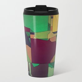 Patchwork of Color Metal Travel Mug