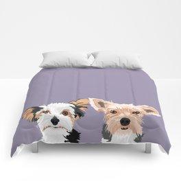 Two Yorkies Comforters
