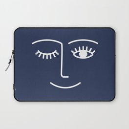 Wink / Navy Laptop Sleeve