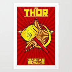 Asgardian Revolution: THOR Art Print