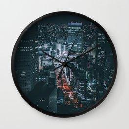 Big city lights Wall Clock