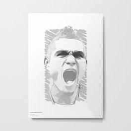 World Cup Edition - Kevin-Prince Boateng / Ghana Metal Print