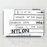 vogue iPad Cases featuring vogue forever by ElisaGabi