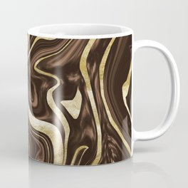 Brown Gold Marble #1 #decor #art #society6 Coffee Mug