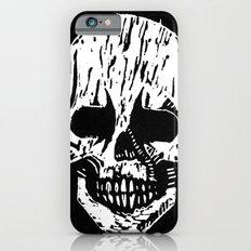 Woodcut Skull iPhone 6s Slim Case