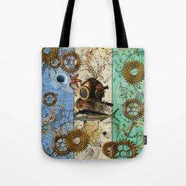 Nautical Steampunk Tote Bag