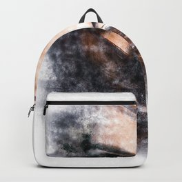 Painted Woman Backpack