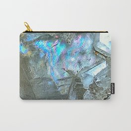 White Calcite Carry-All Pouch