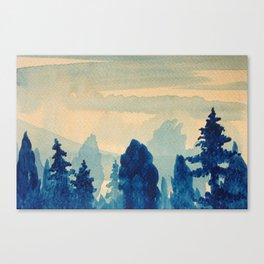 Memory Landscape 9 Canvas Print