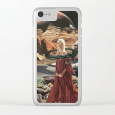 In My Dreams, Everything's Orange Clear iPhone Case