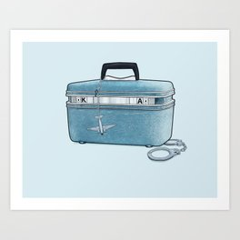 LOST Luggage / Kate Art Print