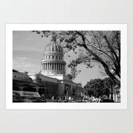 El Capitolio Art Print