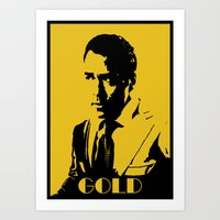 entourage Art Prints featuring Entourage - Ari Gold by StriveArt