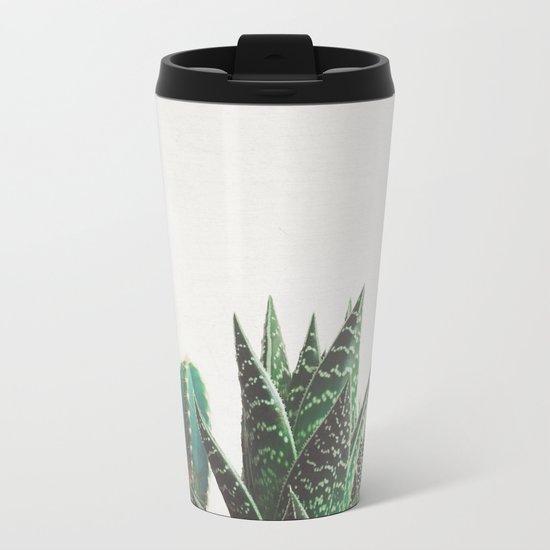 Cactus & Succulents Metal Travel Mug