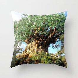 Disney's Tree Of Life Throw Pillow