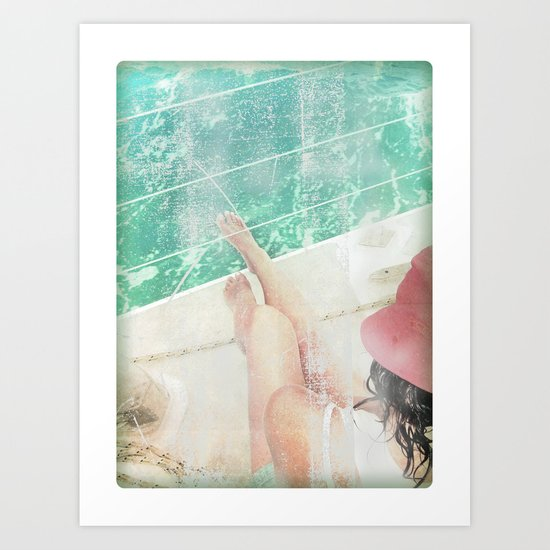 peace and tranquility Art Print