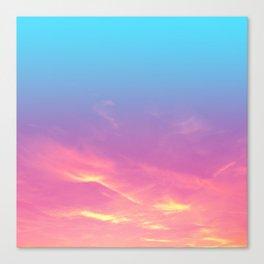 Pink Golden Skies Canvas Print