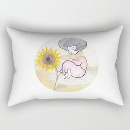 Sunflower Nation Rectangular Pillow
