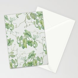 Floating Peas Stationery Cards