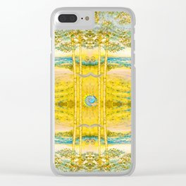 Sacred Reflection Clear iPhone Case