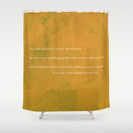 Kiss The Girl Shower Curtain