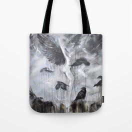 Fly Raven - fly Tote Bag