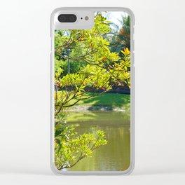 aprilshowers-259 Clear iPhone Case