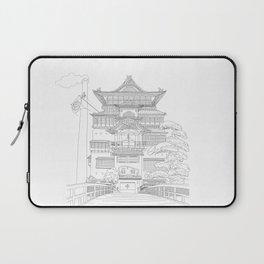 Bath House Japanese Anime Illustration Laptop Sleeve