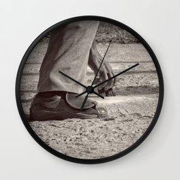 Clean Plate Wall Clock