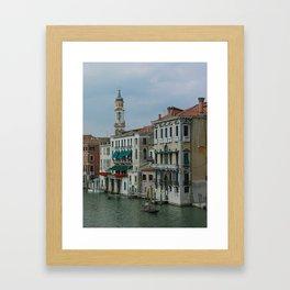 Ahh Venice Framed Art Print