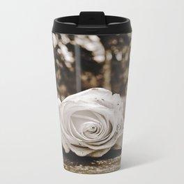 Symbolic rose Metal Travel Mug