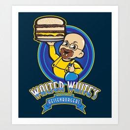 Heisenburgers Art Print