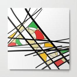 Urban Abstract II Metal Print