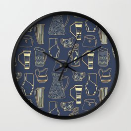 The Pitchers Wall Clock