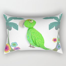 Parrot Bibi Beach Rectangular Pillow